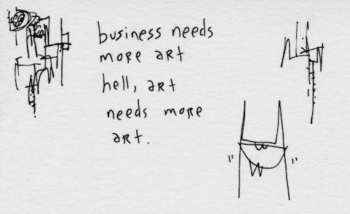art needs more art