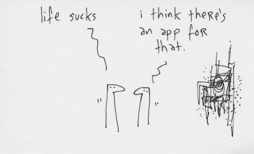 Life sucks app