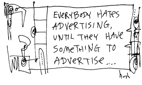 Everybody hates advertising