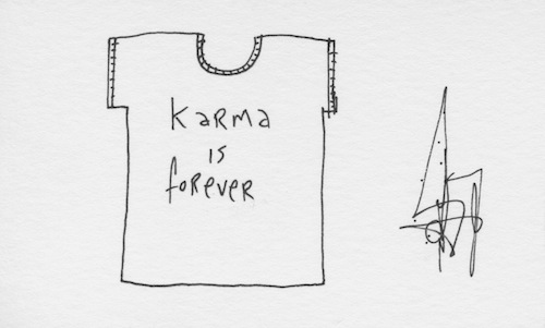 Karma is forever