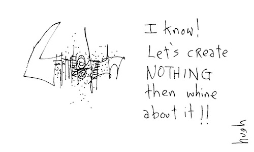 Let's create nothing