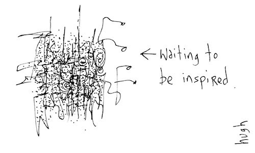 Waiting to be inspired