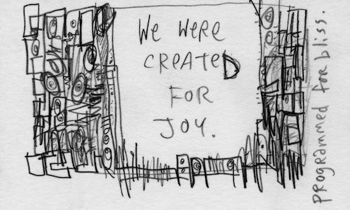 created for joy