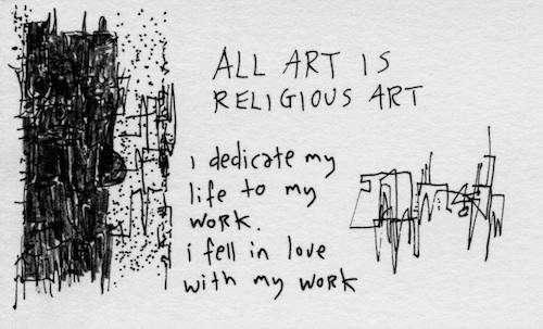 Dedicate my life to my work