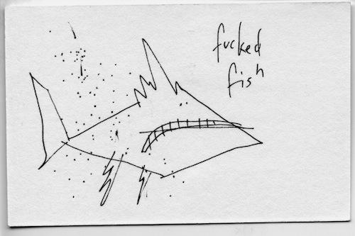 Fucked fish