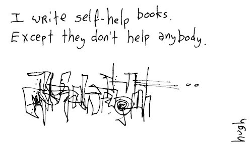 I write self help books