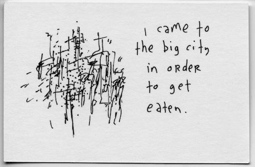 To get eaten