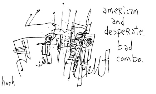 American and desperate