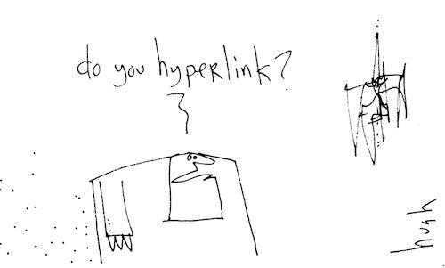 Do you hyperlink