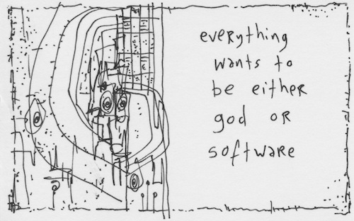 God or software