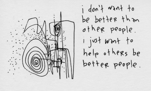 Help others be better