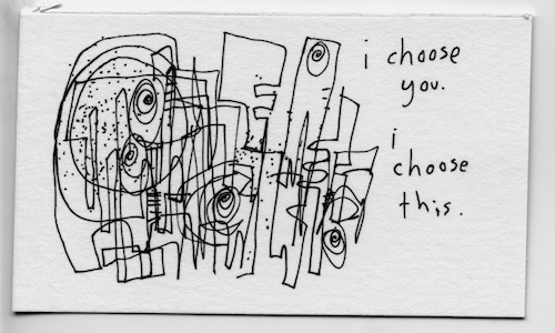 I choose this