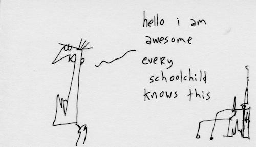 Every schoolchild knows
