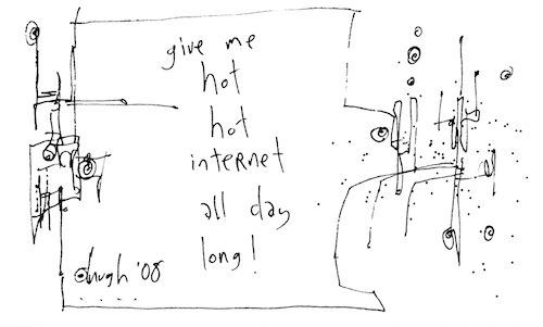 Hot hot internet
