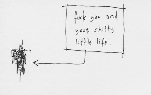 Shitty little life