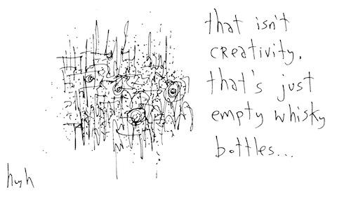 That isn't creativity
