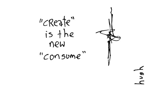 Create is the new consume