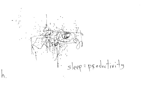 Sleep = productivity