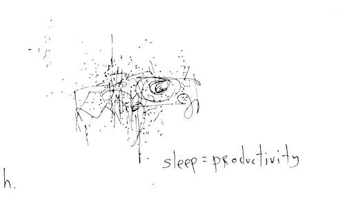 Sleep = productivity