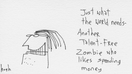 Talent free zombie
