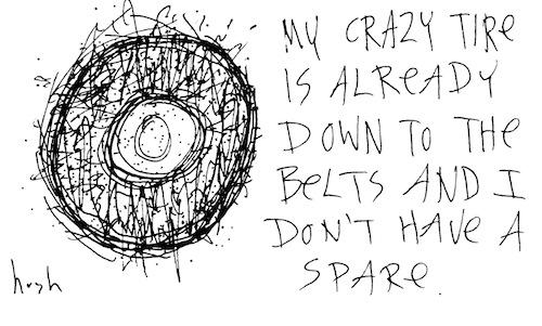 My crazy tire