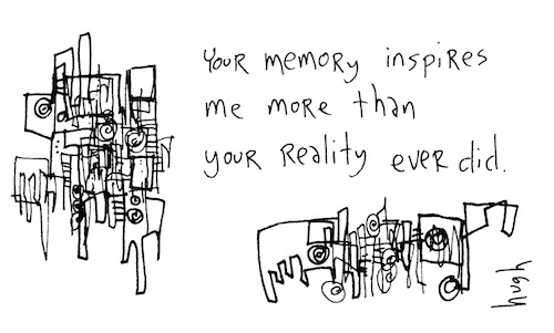 Your memory inspires me