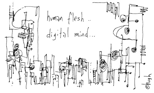 Human flesh digital mind