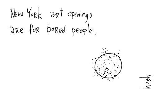 New York art openings