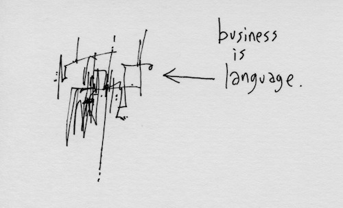 Business is language
