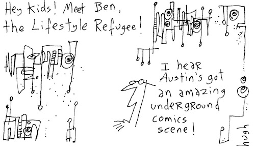 Meet ben the lifestyle refugee