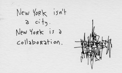 New York is a collaboration