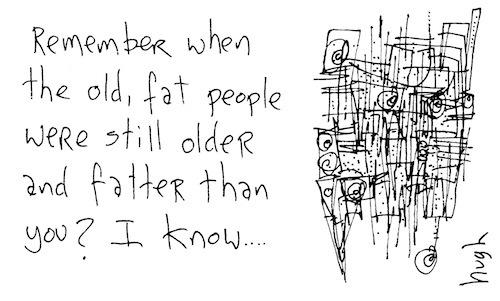 Older and fatter