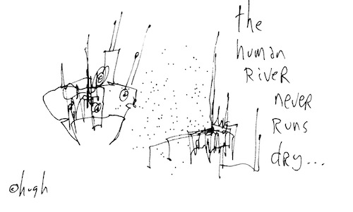 The human river