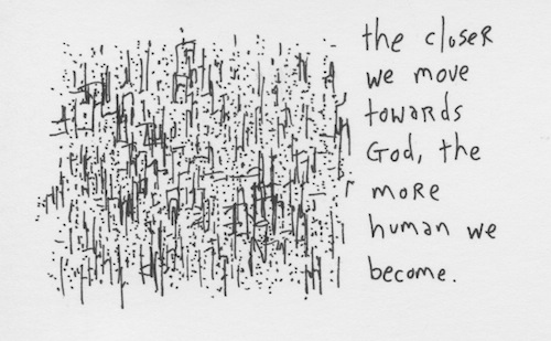 The more human we become