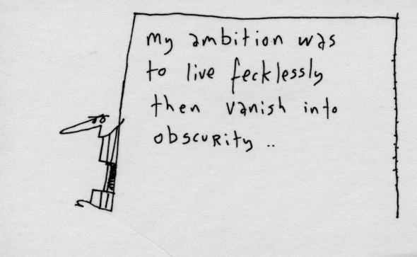 Live fecklessly