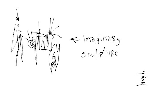 Imaginary sculpture