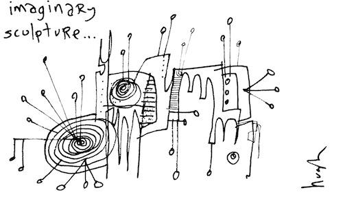 Imaginary sculpture