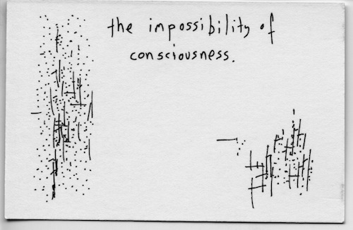 Impossibility of consciousness