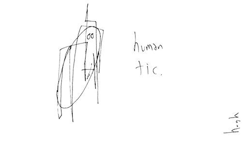 Human tic