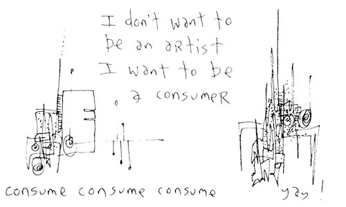I want to be a consumer