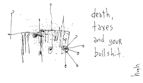 Death taxes and your bullshit