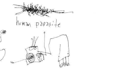 Human parasite