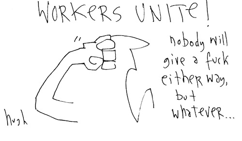 Workers unite