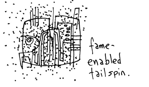 Fame-enabled tailspin