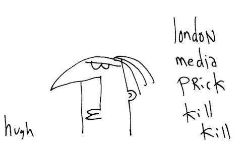 London media prick