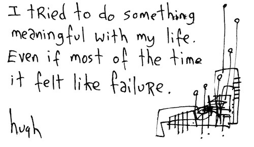 Felt like failure
