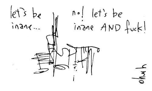 let's be inane