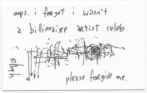 Billionare artist celeb