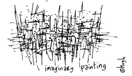 Imaginary painting
