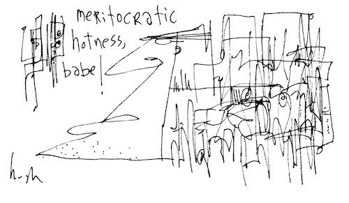 Meritocratic hotness
